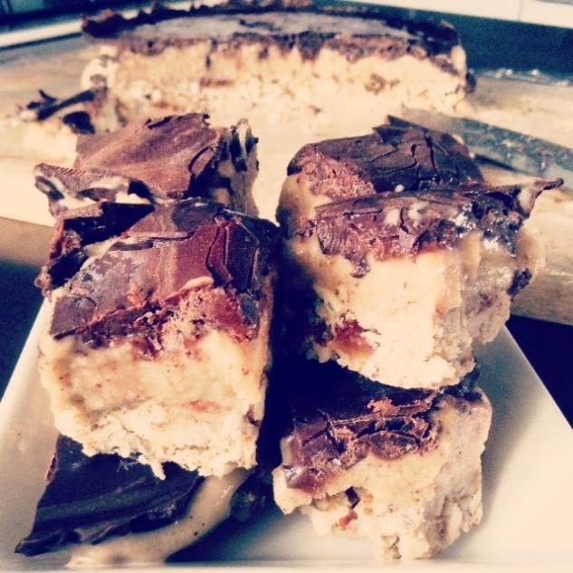 Raw Snicker Slice